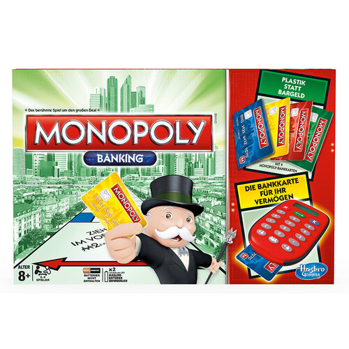 Kartenleser anleitung banking ultra monopoly Monopoly banking