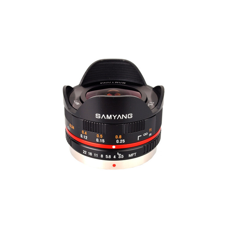 Samyang 7.5mm f/3.5 Micro Four Thirds - 1