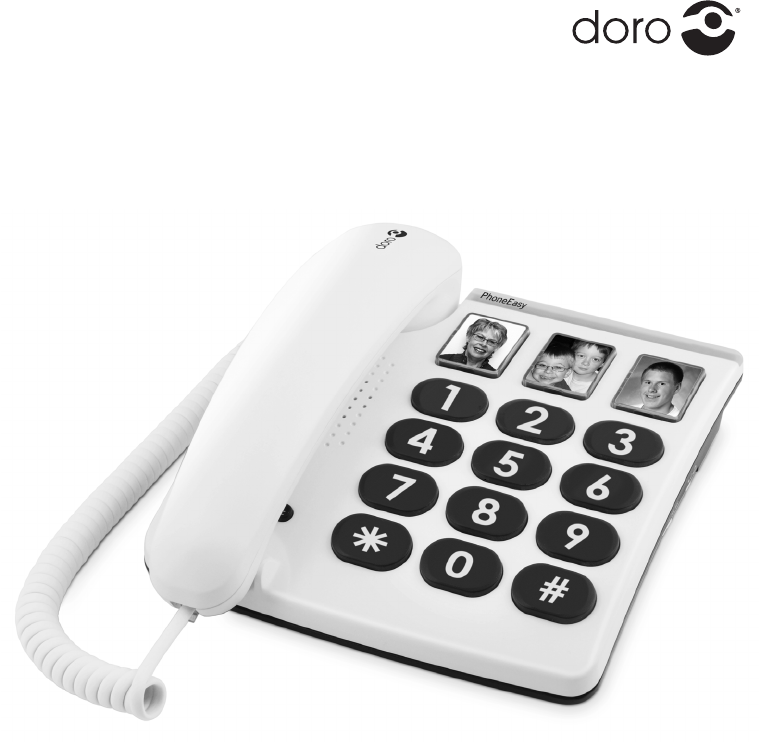 Doro PhoneEasy 331ph mode d'emploi
