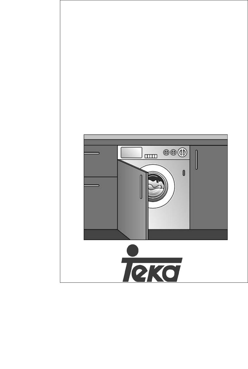 Teka Tkx1 1000 T Manual Lavadora ~ Cual Es El Programa Mas Corto De La Lavadora