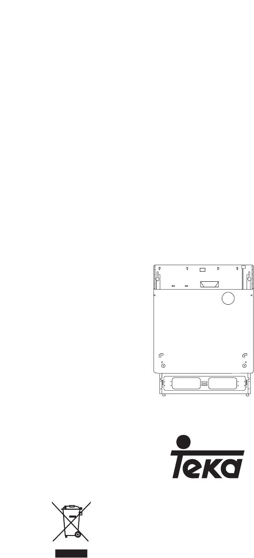 Teka DW6 58 FI manual - Lavavajillas