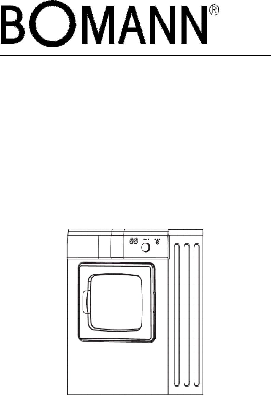 Bomann WT 5016 Bedienungsanleitung