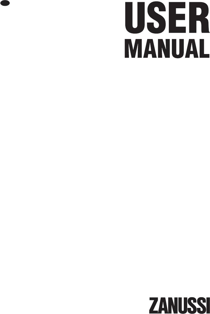 Zanussi ZWG 5100 P mode d'emploi