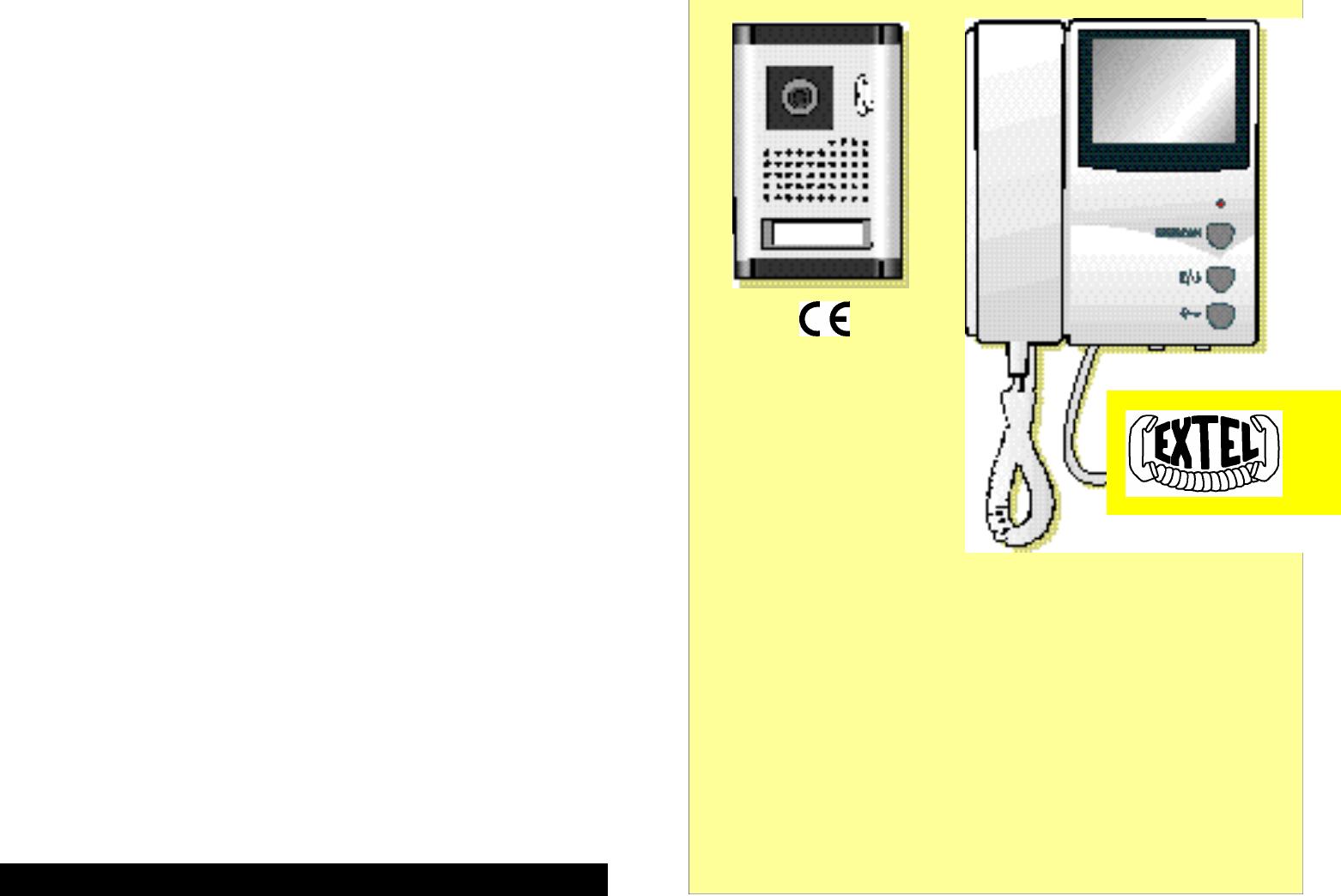 Extel VP 230 E manual